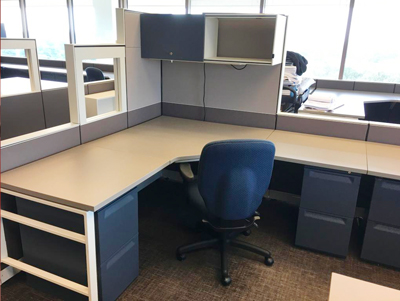 Herman Miller Reconditioned Workstation BT360