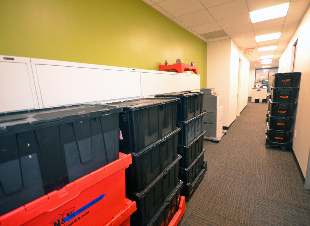 Office Relocation Packing